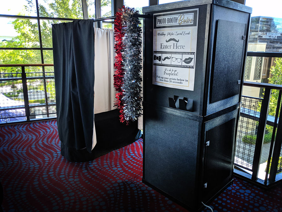 Enclosed Photo Booths